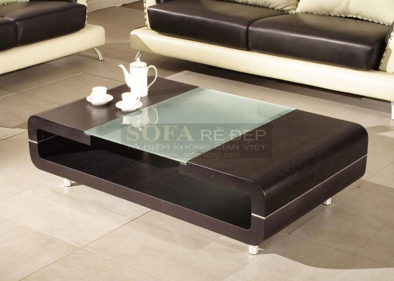 Bàn sofa gỗ BS058
