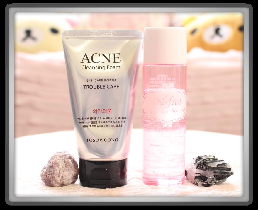 겟잇뷰티박스 by 미미박스 memebox beautybox Special #19 Cleansing Kit unboxing review box tosowoong acne cleansing foam secret key oil lip eye makeup remover