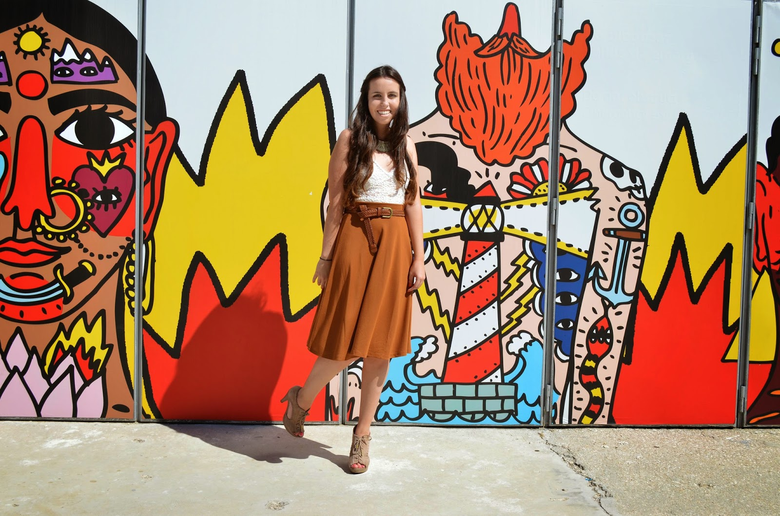 hey vicky hey, victoria suarez, fashion week madrid, midi skirt, midi