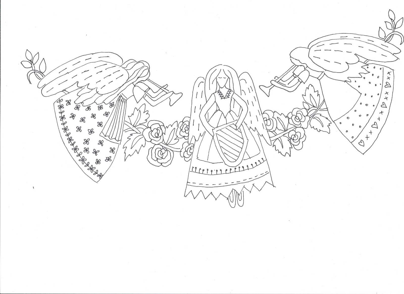 ... angel template displaying 19 images for christmas angel template