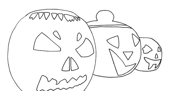h is for halloween coloring pages - photo #48