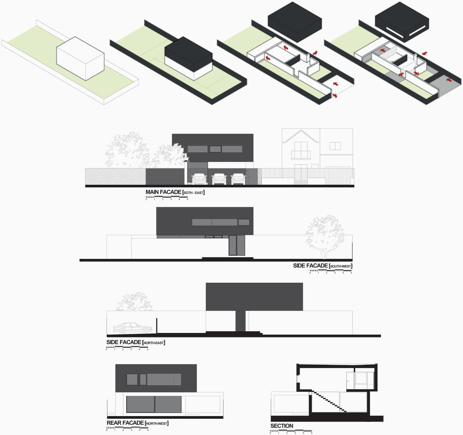 MODERN C HOUSE  MODERN HOUSE DESIGN WITH SIMPLE   YouTube