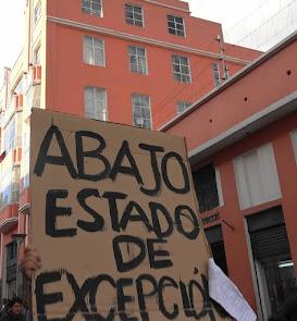 GOBIERNO RECADERO DEL CAPITAL Y REPRESOR CONTRA EL PUEBLO