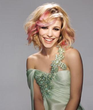 Terribly Haute Beauty: Rachel McAdams Pink Hair Rachel Mcadams Instagram