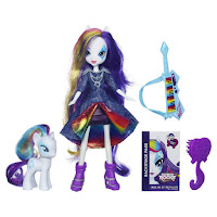 Equestria Girls Rarity Doll and Pony