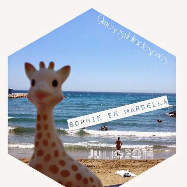 Sophie la jirafa Marbella