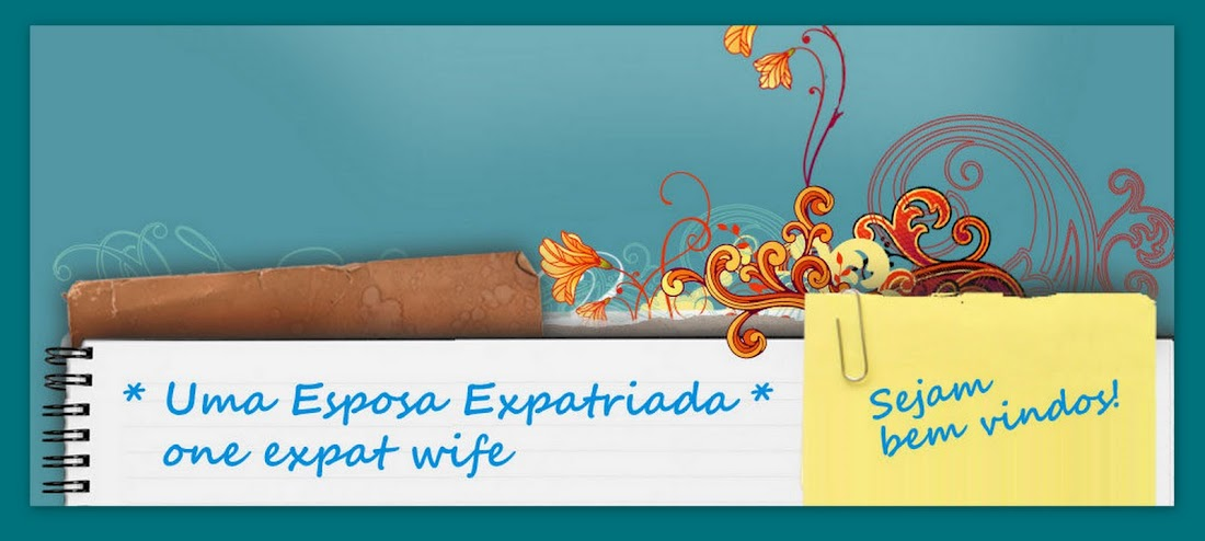 * UMA ESPOSA EXPATRIADA * one expat wife
