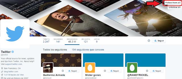 como ganar seguidores en twitter