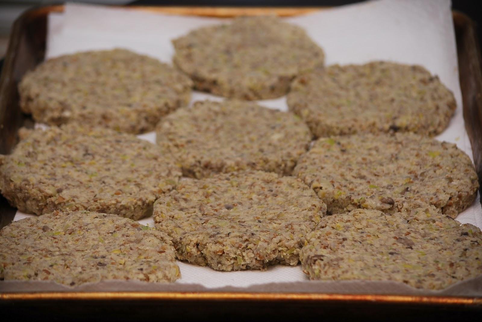 My story in recipes: Veggie Burgers