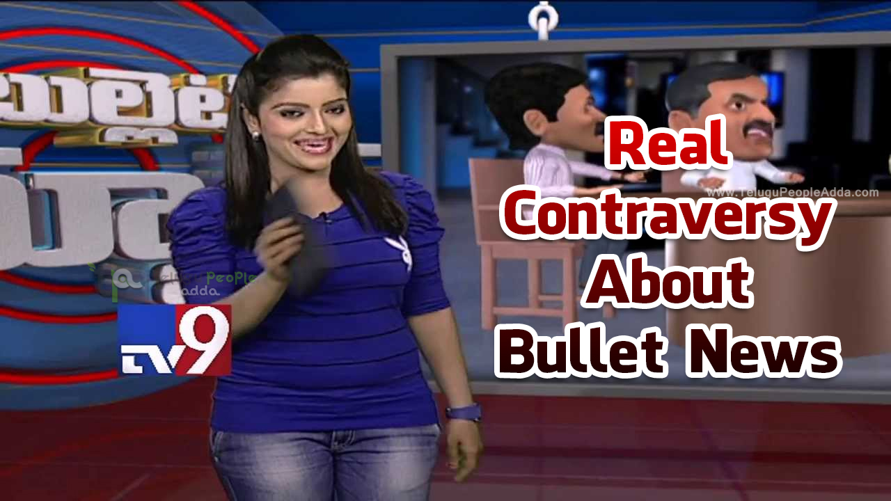 Anchor Padmini About The Real Contraversy on Bullet News