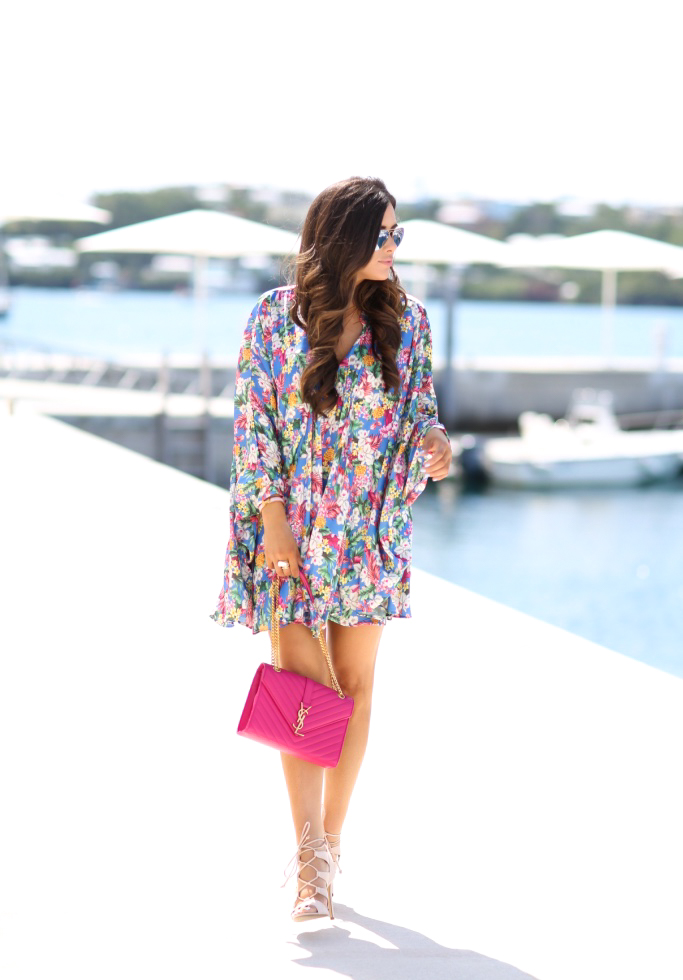The Sweetest Thing: Floral Kimono Dress