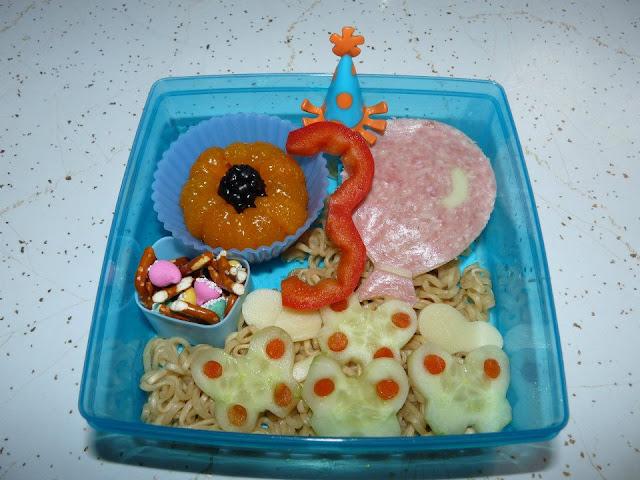 3rd birthday bento lunch