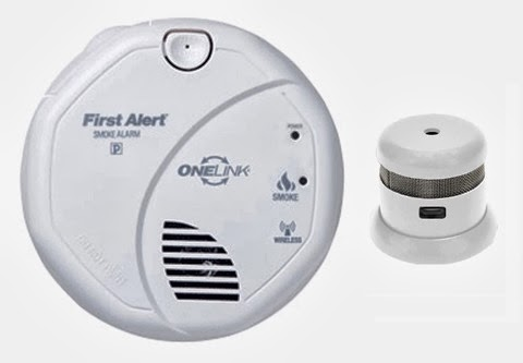 First Alert fire alarms
