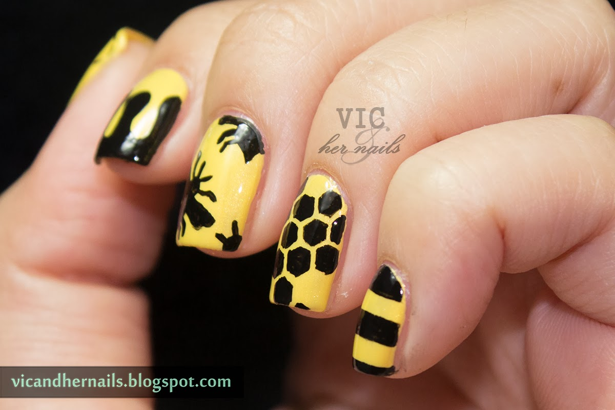 Vic and Her Nails: Crumpet\'s Nail Tarts 33 DC Day 33 - Freestyle ...