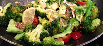 Grilled Broccoli With Garlic And Chilies