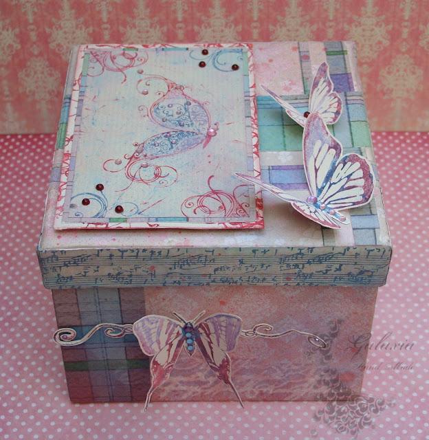 Bajecznie kolorowe pudełko