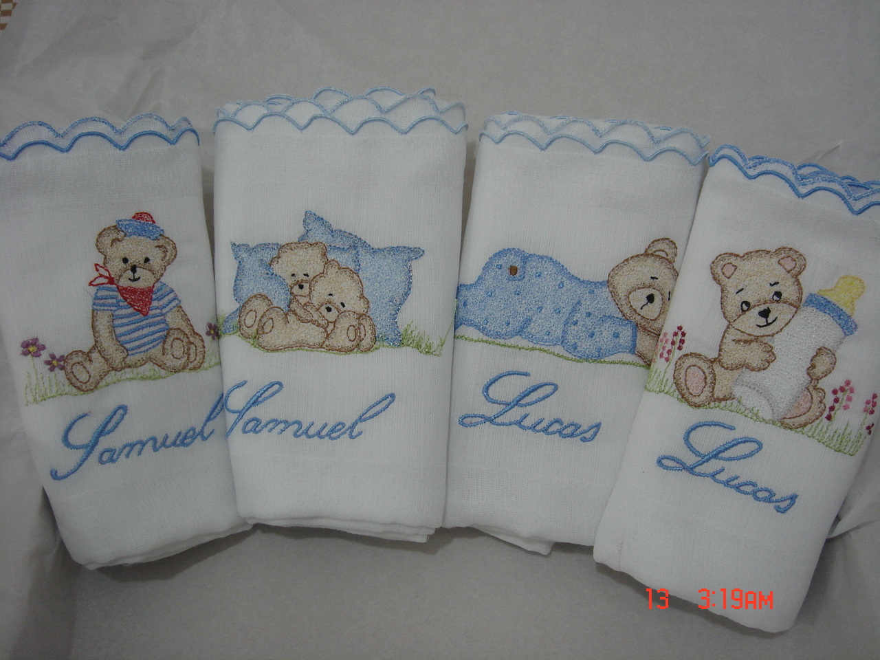fraldas bordadas beb s mercadolivre brasil
