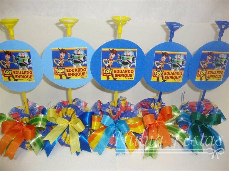 Centros de mesa Toy Story para cumpleaños - Imagui