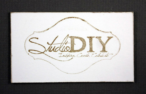 DIY Studio Business Card