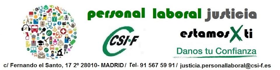 Laborales Justicia CSIF