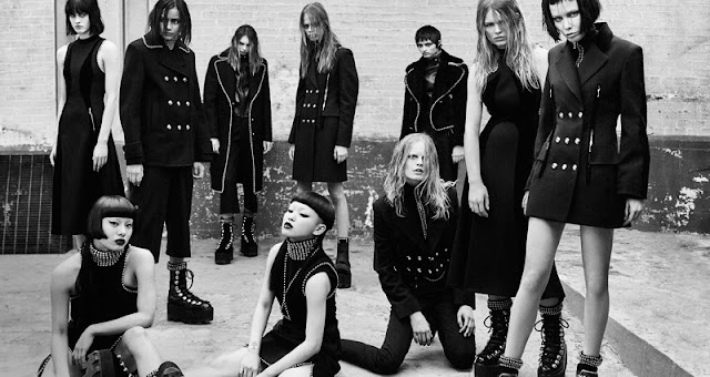 Alexander Wang Fall/Winter 2015 Campaign is a gothic affair