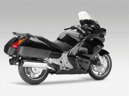 Motocicleta Honda din dotarea Politiei Romane