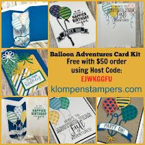 Balloon Adventures Card Kit