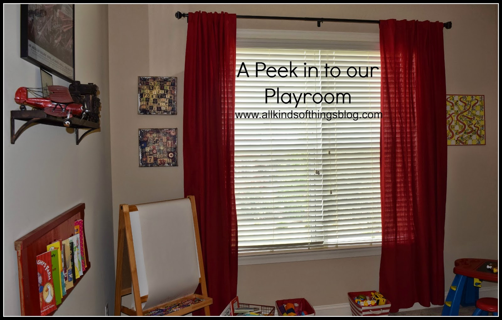 A Peek in to our Transportation Themed Playroom Playspace