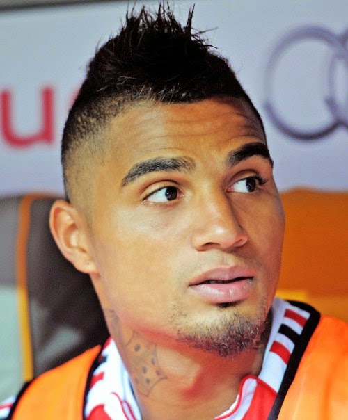 Kevin Prince Boateng Hairstyles