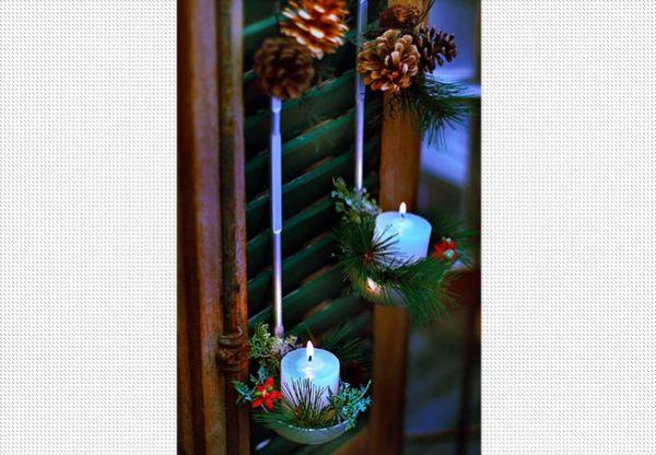 decorações de natal criativas