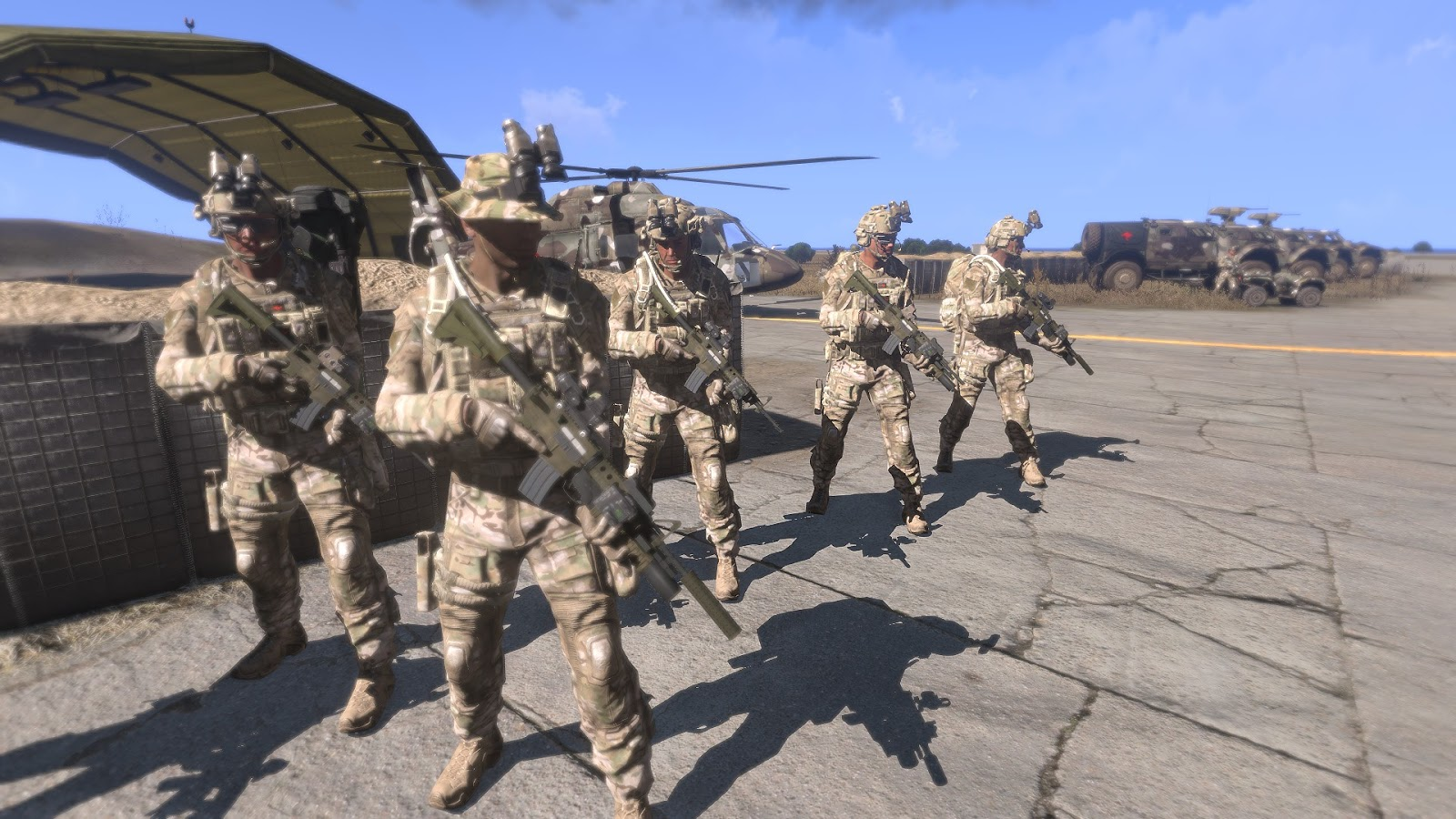 how to create a unit on arma 3