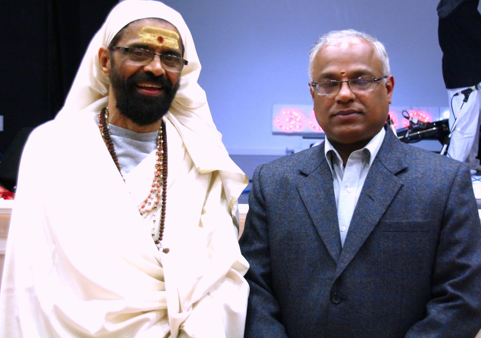 Swamiji with Vancouver Counsel