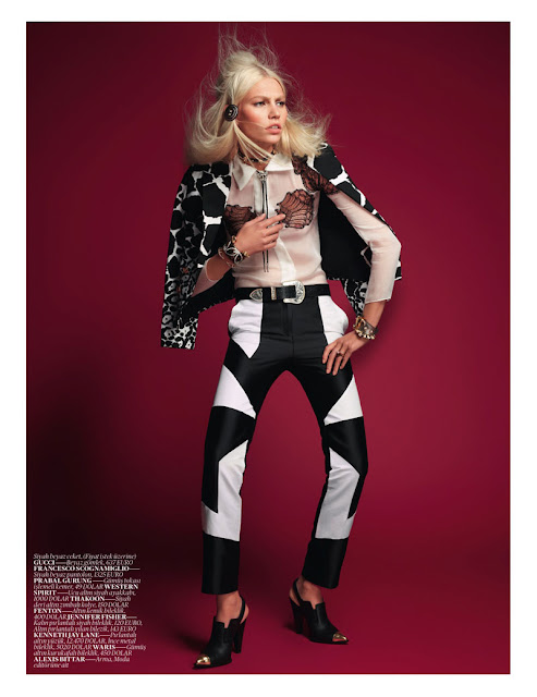 Aline Weber, David Vasiljevic, editorial, Katie Mossman, Vogue Turkey