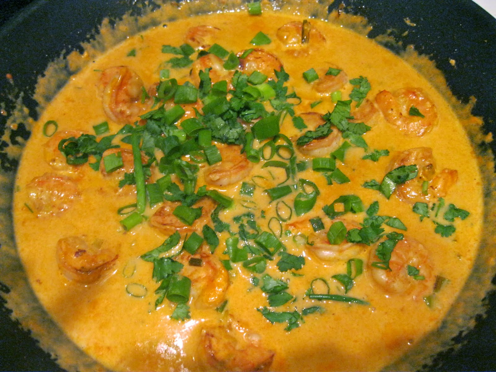 My Prescription for Happiness: Thai Coconut Curry Shrimp