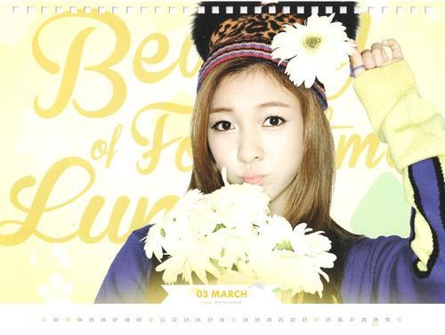 LUNA f(x) 2013 Photo Calendar