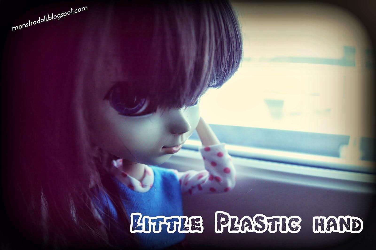 Little plastic hand