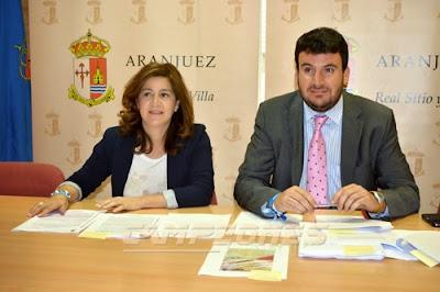 Mabel Pantoja y Fernando Gutiérrez