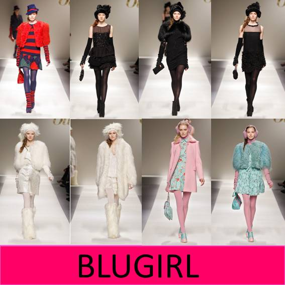  Blugirl Miln fashion Week Otoo Invierno 2012 / 2013