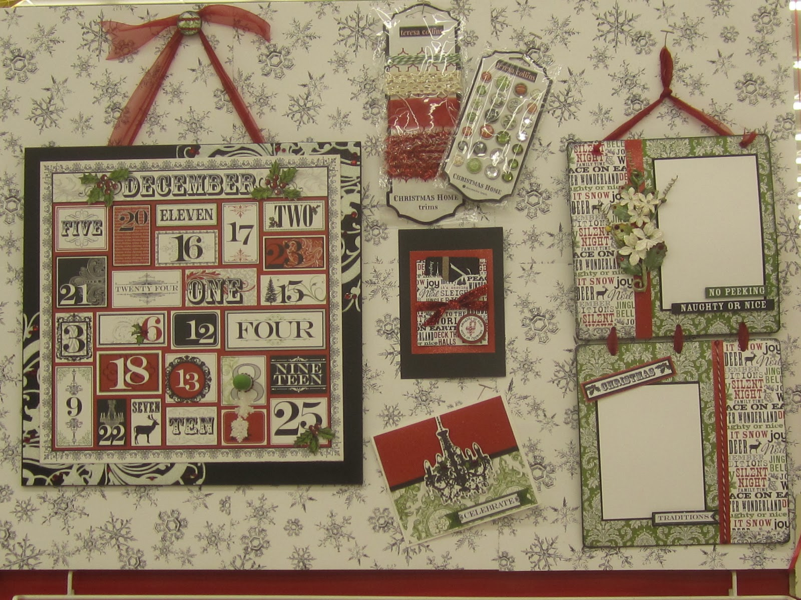 Miriam Crafts With You Christmas Projects With Scrapbook Paper