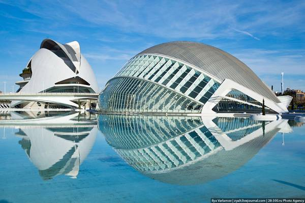 City Of Arts And Sciences In Valencia Russia