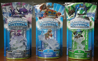 Clear Skylander Figurines