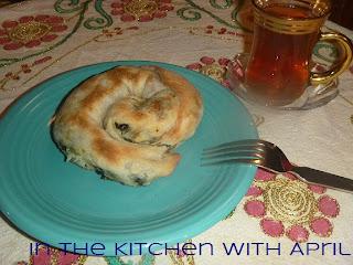 Ispanaklı Peynirli Börek or Spinach and Cheese Börek