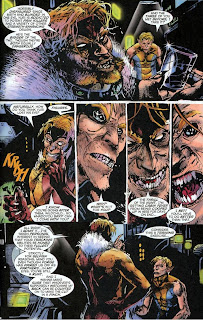 Review Sabretooth Back to Nature Jorge Gonzalez Frank Teran Victor Creed Wild Child X-Factor Marvel original graphic novel ogn one-shot trade paperback tpb comic book