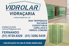 VIDROLAR VIDRAÇARIA \ PROMOÇAO DE VERAO LIGUE E INFORME-SE