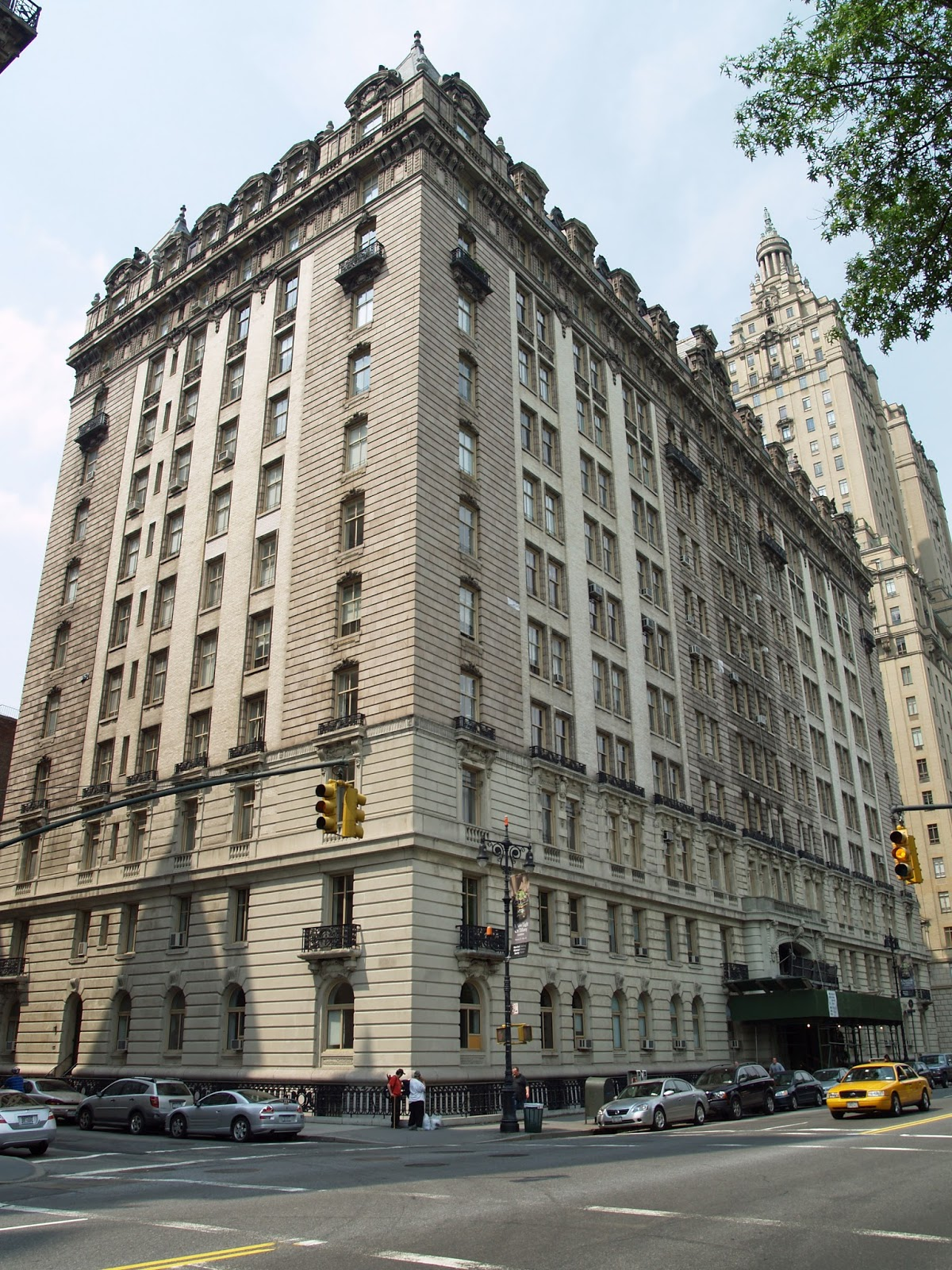 Daytonian in manhattan the 1907 langham apartments no for Central park apartments new york