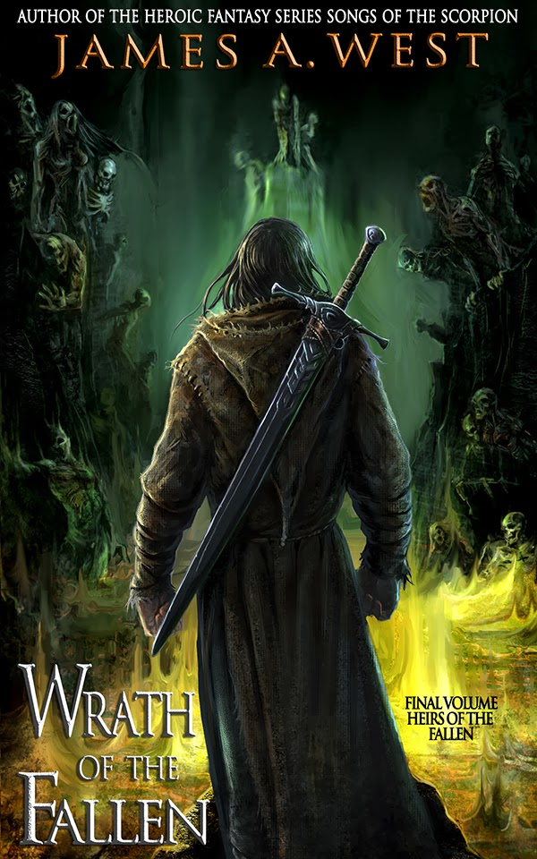 http://www.amazon.com/Wrath-Fallen-Heirs-Book-ebook/dp/B00GKA1Q8O/ref=sr_1_1?ie=UTF8&qid=1394244055&sr=8-1&keywords=wrath+of+the+fallen
