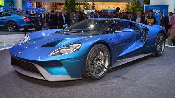 Ford Unveils Trio of Performance Vehicles at NAIAS