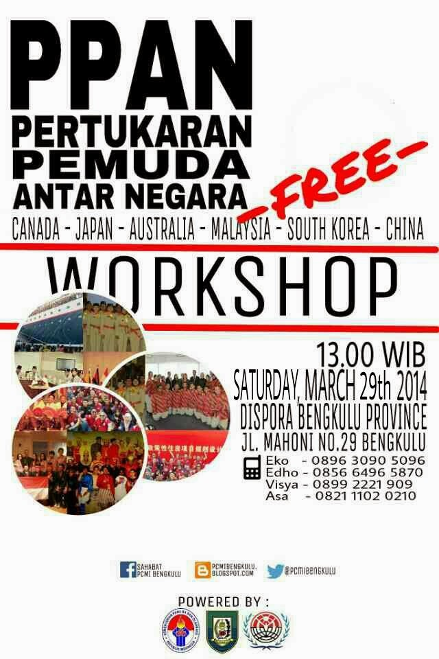 Come and Join our Workshop ..