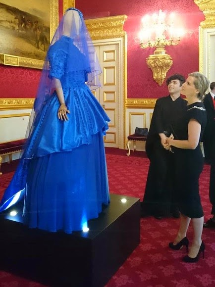 Sophie, Countess Of Wessex Attends A reception For London College Of Fashion