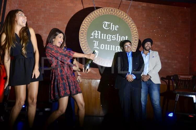 Priyanka Chopra launches Siddharth Chopra's 'The Mugshot Lounge' in Pune
